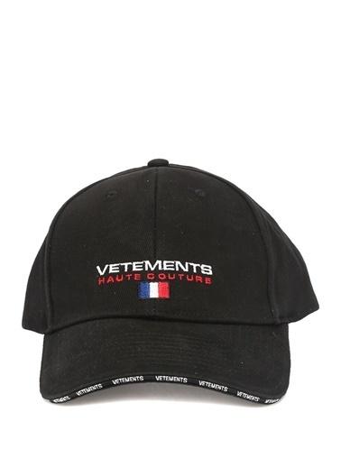 Vetements Şapka Siyah